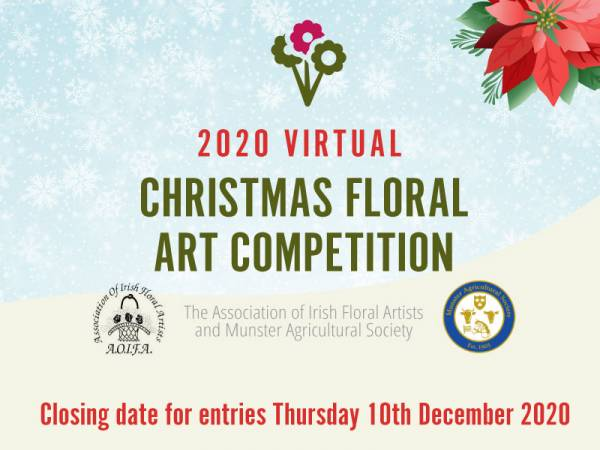 Virtual Christmas Floral Art Competition Launched