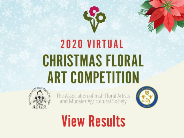 Christmas Floral Art Competition 2020 Results