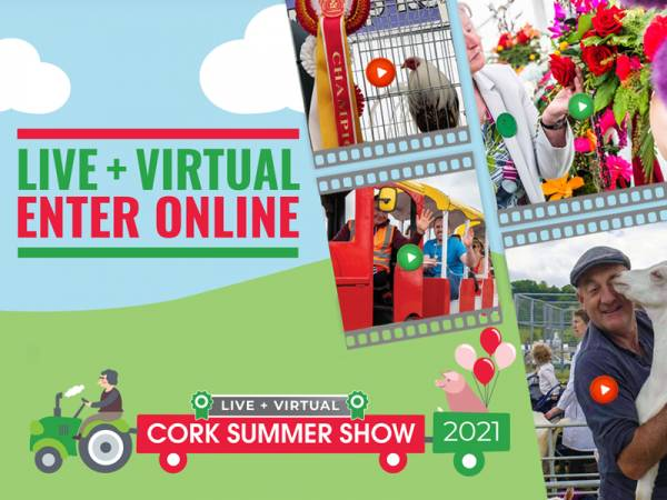 Cork Summer Show Virtual Competitions Open 2021 Classes