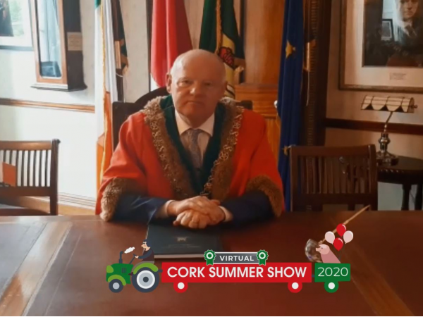 Virtual Show launched by Lord Mayor of Cork, Councillor John Sheehan